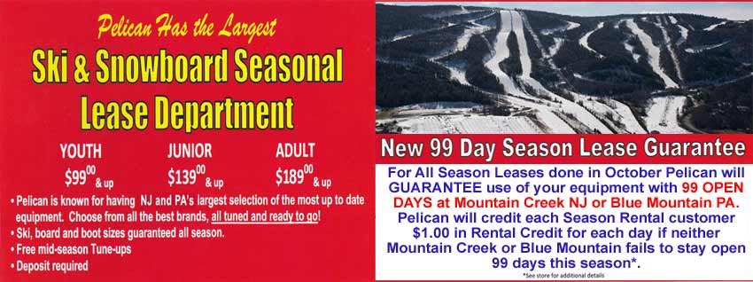 Pelican Ski & Snowboard Lease Department