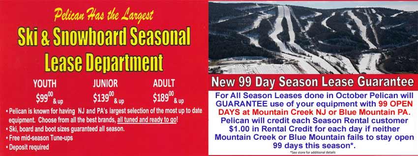 Pelican Ski & Snowboard Lease Department