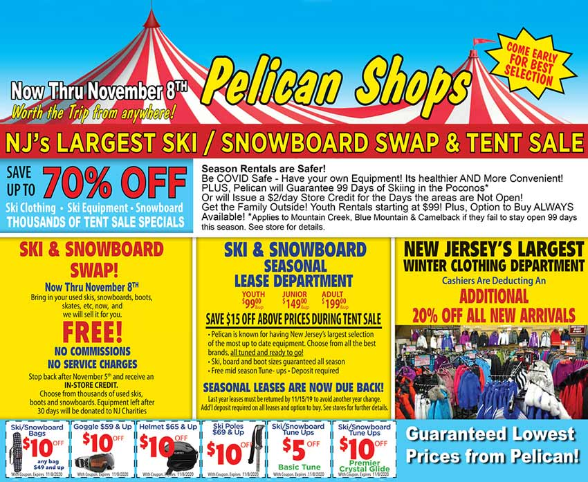 Tent and Swap Sale!