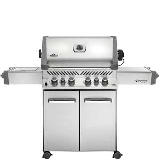 NAPOLEON BBQ GRILL - PRESTIGE 500 WITH INFRARED SIDE AND REAR BURNERS