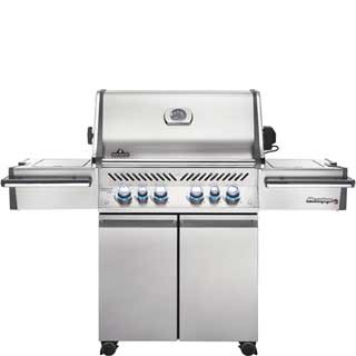 NAPOLEON BBQ GRILL - PRESTIGE PRO 500 WITH INFRARED REAR AND SIDE BURNERS