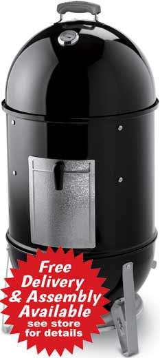 Weber Gas Grill - Smokey Mountain Cooker