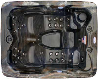 SIGNATURE SPAS 3 PERSON - NS-3 PLUS HOT TUB