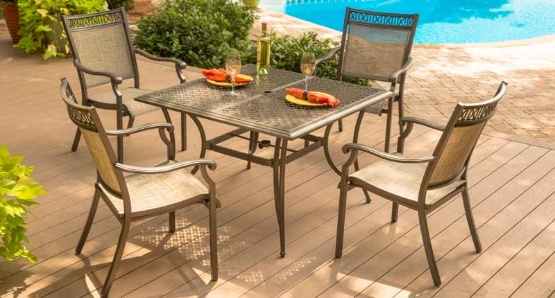 Attrayant Agio 4 Seat Patio Dining Set