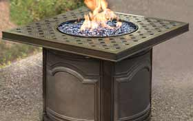 Agio Baxter Fire Table