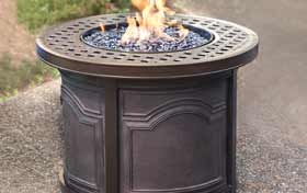 Agio Bellamy Fire Table