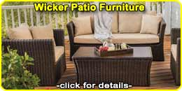 Wood Patio Outdoor Furniture