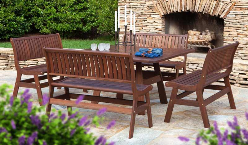 JENSEN LEISURE AMBER BEECHWORTH PATIO SET