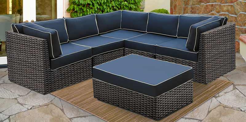 North Cape Bella Nova Outdoor Sectional Sofa