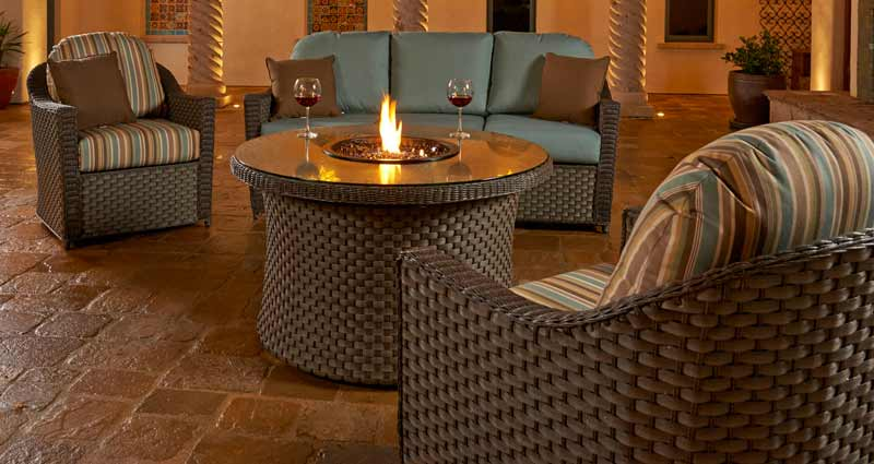 North Cape Covington Wicker Patio Set