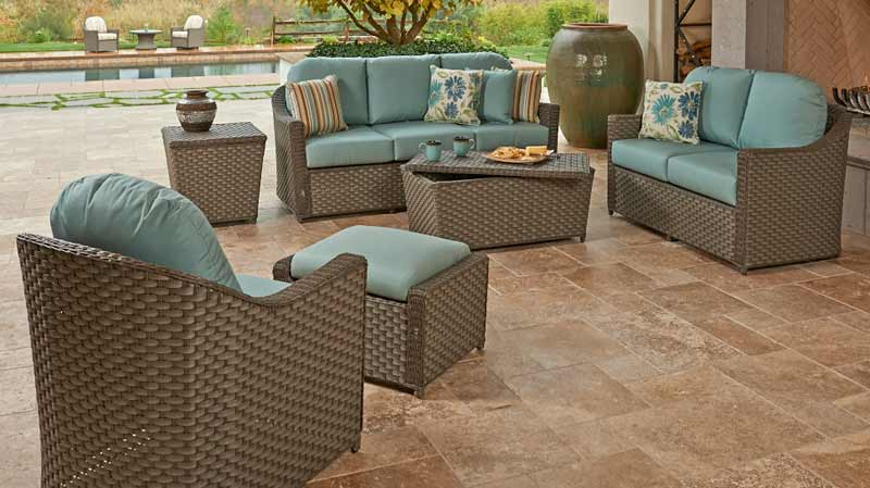 North Cape Covington Wicker Outdoor Set