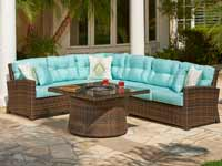 North Cape Charleston Patio Set