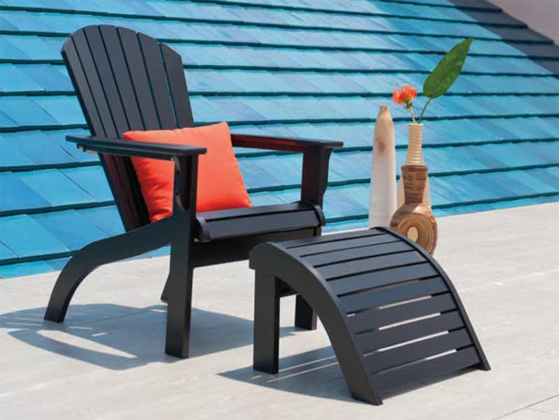 TELESCOPE ADIRONDACK CHAIR & OTTOMAN