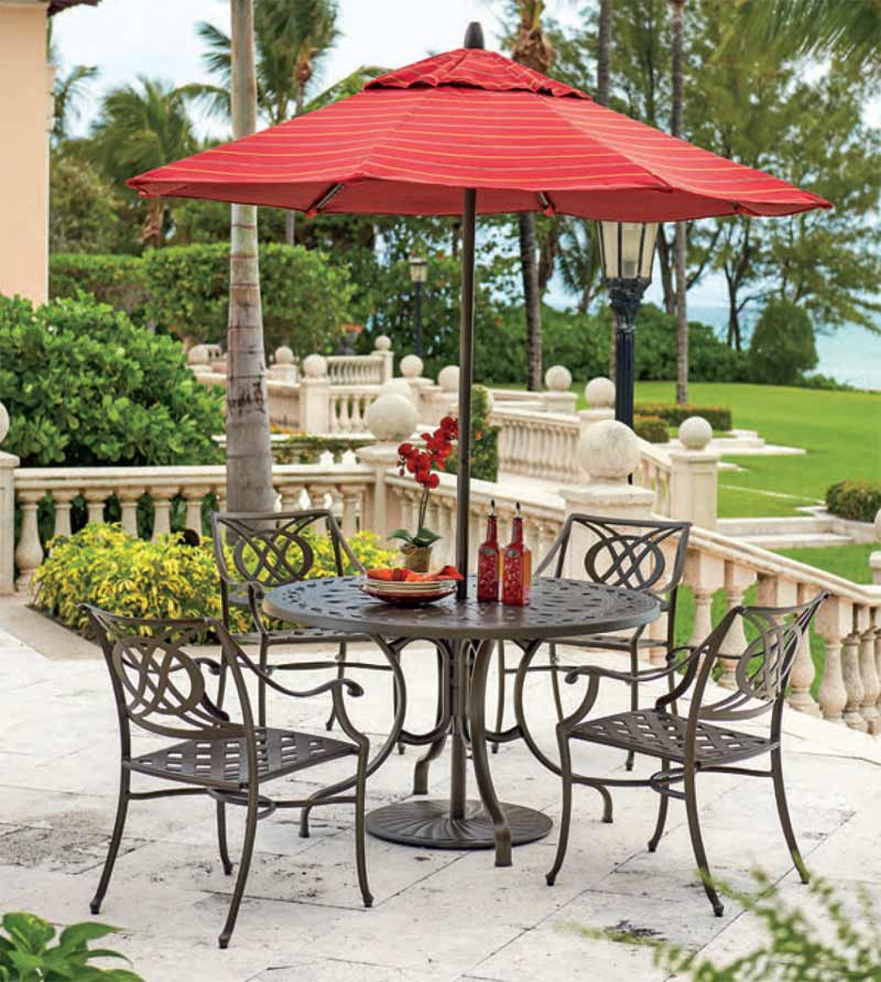 Telescope Cadiz Cast Aluminum Patio Set