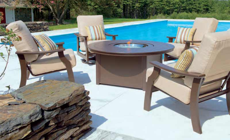 Telescope St. Catherine Fire Pit Patio Set