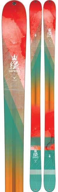 K2 Empress Women's Twin Tip Skis