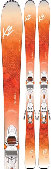 K2 Luv Struck 80 Women's Skis