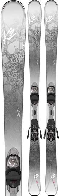 K2 Luvit 76 Women's Skis