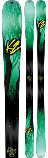 K2 MissConduct Women's Twin Tip Skis