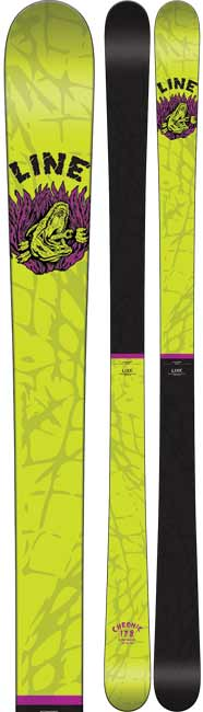 Line Chronic Twin Tip Skis