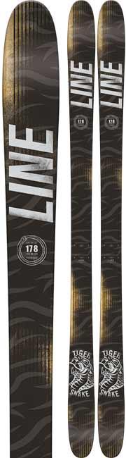 Line Tigersnake Twin Tips Skis