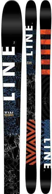 Line Tom Wallisch Pro Twin Tips Skis