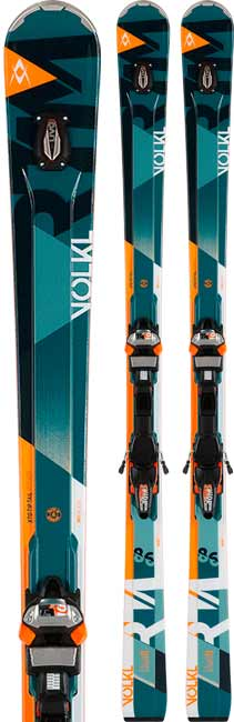 Volkl RTM 86 UVO Men's Skis