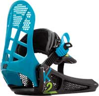 K2 Mini Turbo Youth Snowboard Bindings