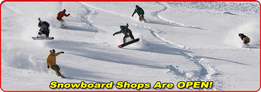 Pelican Snowboard Shops are Open