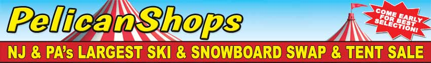Pelican Shops Ski & Snowboard Tent and Swap Sale
