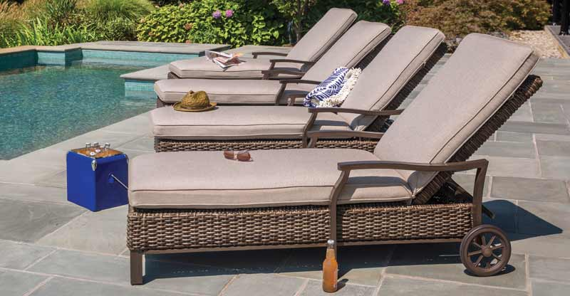 Agio Trenton Chaise Lounge Chairs