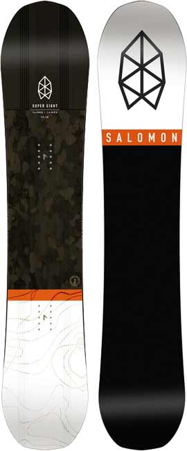 6c4b1b26770e 2018 Salomon Super 8 Men s Snowboard
