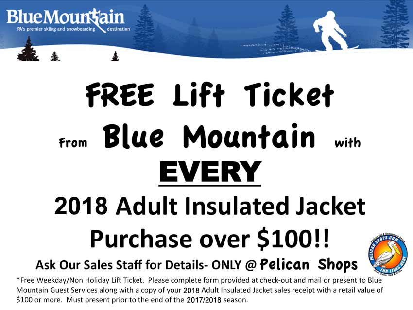 FREE Blue Mountain Lift Ticket