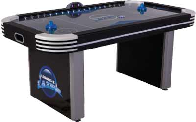 Electra 7ft Lighted Rail Air Hockey