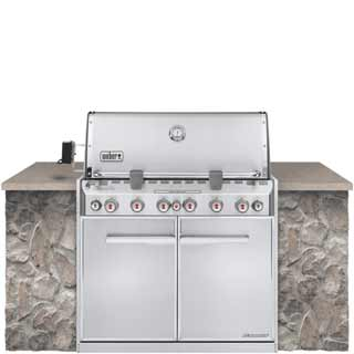 Weber Summit S 460 Built-In Gas Grill