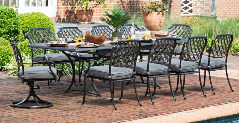 Agio 4 Seat Patio Dining Set
