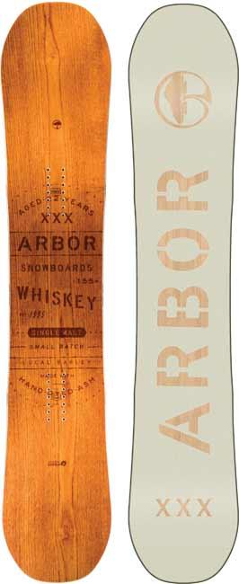 '18/'19 Arbor Whiskey SNOWBOARD