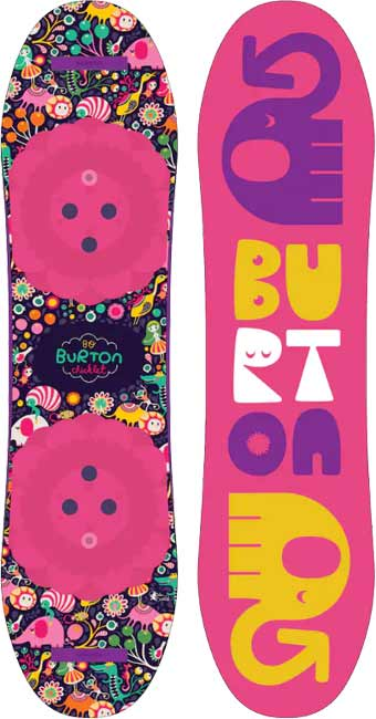 '18/'19 Burton Chicklet Girl's Youth SNOWBOARD