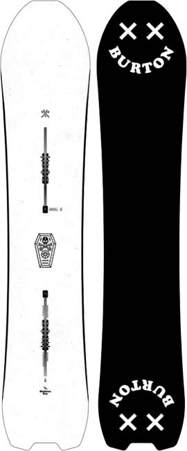 '18/'19 Burton Skeleton Key SNOWBOARD