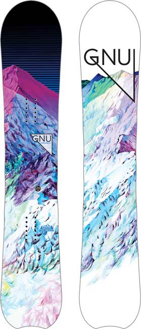 '18/'19 Gnu Chromatic Women's SNOWBOARD