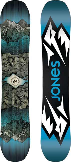 '18/'19 Jones Mountain Twin SNOWBOARD