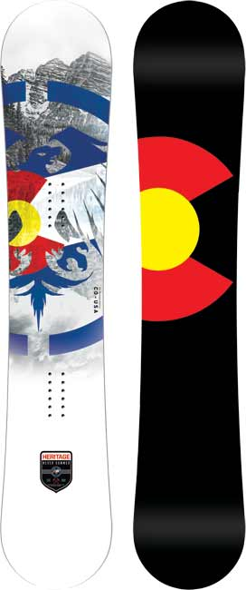 '18/'19 Never Summer Heritage SNOWBOARD