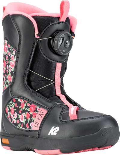 '18/'19 K2 Lil Kat Boa Youth SNOWBOARD BOOTS