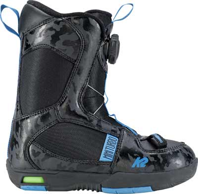 '18/'19 K2 Mini Turbo Boa Youth SNOWBOARD BOOTS