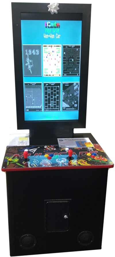 ARCADE CABNETS AT PELICAN IN MORRIS PLAINS