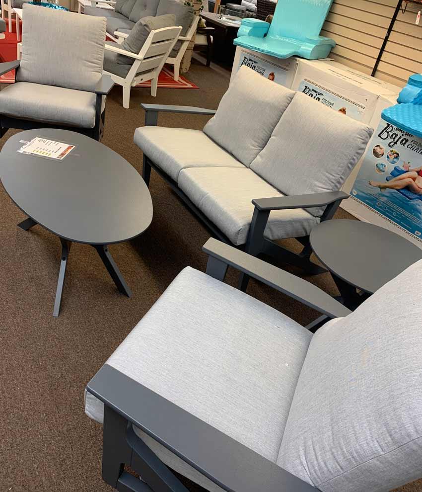 Morris Plains Sales Floor Patio Images