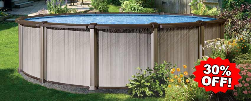 Wilbar Century 52 Inch Above Ground Swimming Pool