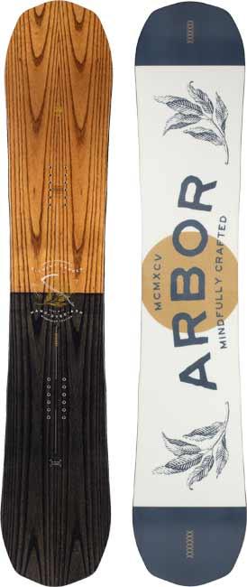 '20/'21 Arbor Element Rocker SNOWBOARD
