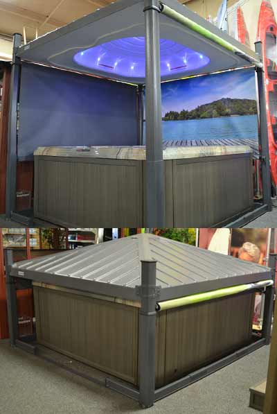 Covana Hot Tub Gazebo