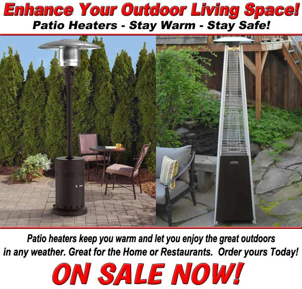 Patio Heaters - Stay Warm - Stay Safe!
